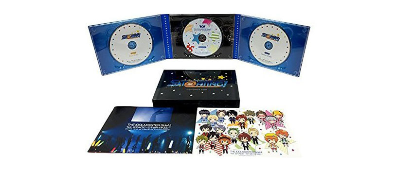 THE IDOLM@STER SideM 1st STAGE~ST@RTING!~ Live Blu-ray[Complete Side]<完全生産限定版>アンコールプレス