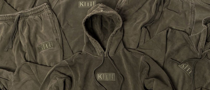 【10/10(火)0時~】Kith The Classic Logo Terry Program in Olive