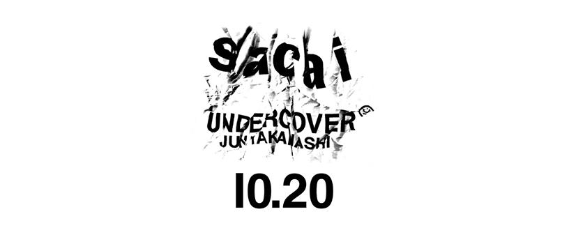 【事前抽選:10月17日(火)18時まで】sacai × UNDERCOVER