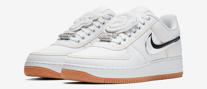 "【12月3日(日)】NIKE AIR FORCE 1 LOW ""TRAVIS SCOTT"""