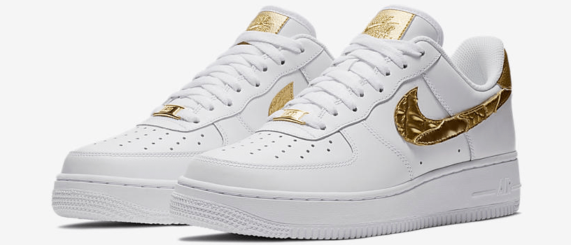 "【1月6日(土)】NIKE AIR FORCE 1 CR7 ""GOLDEN PATCHWORK"""