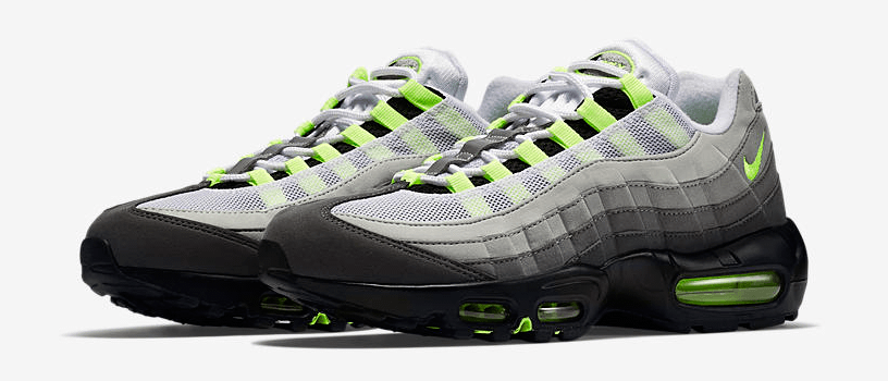 "【抽選:10月19(金)0時~】NIKE AIR MAX 95 OG ""VOLT & BLACK"""