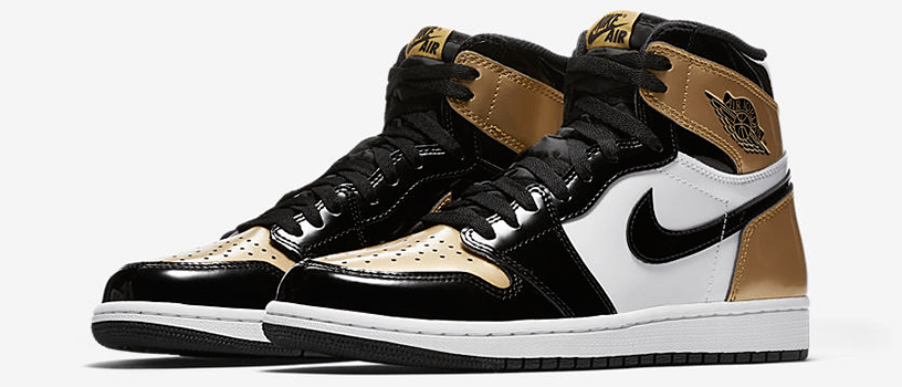 "【3月10日(土)】NIKE AIR JORDAN 1 RETRO HIGH OG NRG ""GOLD TOE"""