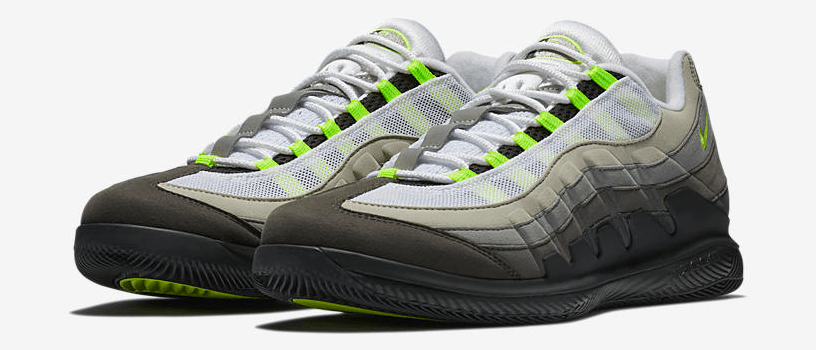 "【3月21日(水)】NIKECOURT VAPOR RF x AIR MAX 95 ""NEON"" & ""GREEDY"""