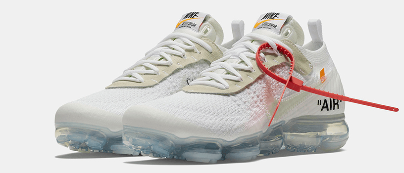 【4月14日(土)】NIKE AIR VAPORMAX FLYKNIT x OFF-WHITE(WHITE)