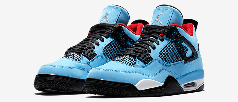 "【6月9日(土)】NIKE AIR JORDAN 4 × TRAVIS SCOTT ""CACTUS JACK"""