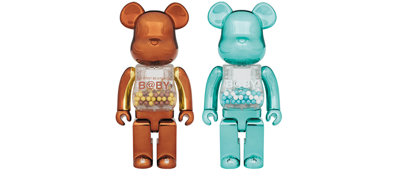 【事前抽選:6月17日(日)まで】MY FIRST BE@RBRICK B@BY Steampunk Ver./Turquoise Ver.