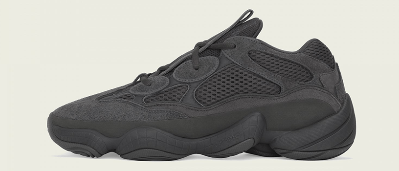 "【7月7日(土)】adidas Originals YEEZY 500 ""UTILITY BLACK"""