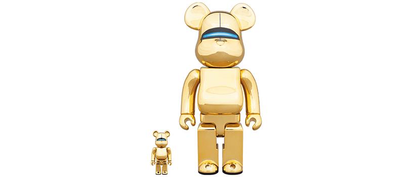 【事前抽選:7月8日(日)まで】SORAYAMA SEXY ROBOT GOLD BE@RBRICK / R@BBRICK