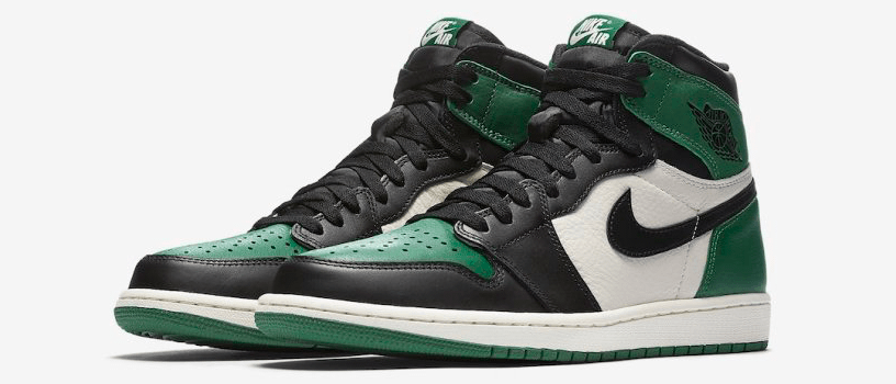 "【9月22日(土)】NIKE AIR JORDAN 1 RETRO HIGH OG ""PINE GREEN & COURT PURPLE"""