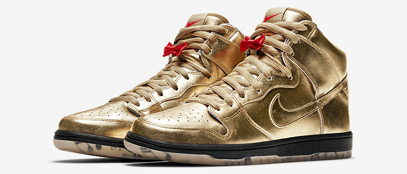 "【9月21日(金)】NIKE SB DUNK HIGH x HUMIDITY ""METALLIC GOLD"""