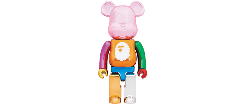 【10月13日(土)】A BATHING APE® 25th ANNIV. MULTI COLOR BE@RBRICK