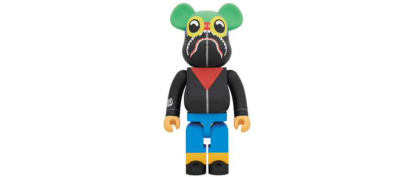 【10月13日(土)】A BATHING APE® × HEBRU BRANTLEY × SOCIAL STATUS BE@RBRICK