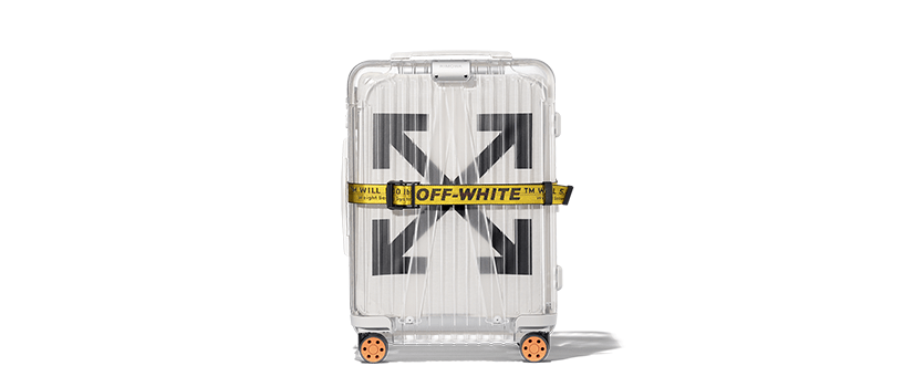 "【抽選:10月22日(月)午前9時~】OFF-WHITE × RIMOWA ""SEE THROUGH"""