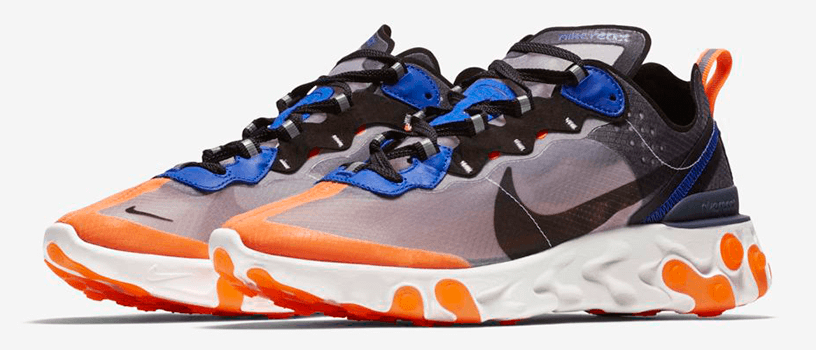 "【10月11日(木)】NIKE REACT ELEMENT 87 ""TOTAL ORANGE"" & ""NEPTUNE GREEN"" & ""SOLAR RED"""