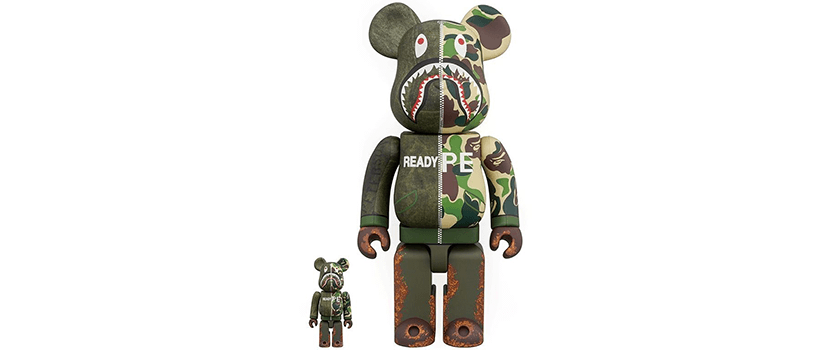 【10月20日(土)】BE@RBRICK READYMADE®︎ x A BATHING APE®
