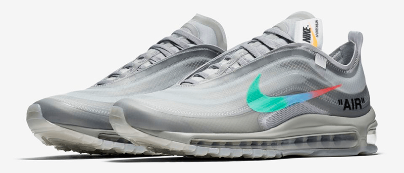 "【抽選:11月8日(木)まで】NIKE AIR MAX 97 x OFF-WHITE ""MENTA"""