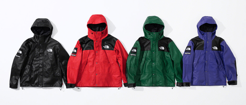 【10月20日(土)】Supreme 2018 FW week9(Supreme × THE NORTH FACE)