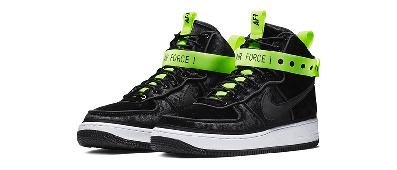 "【11月24日(土)】NIKE AIR FORCE 1 HI VIP ""VELOUR"""