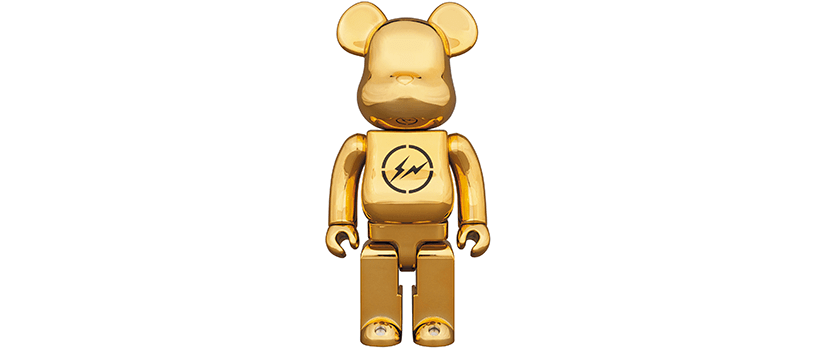 【1月5日(土)】BE@RBRICK THE CONVENI GOLD / BLACK 400%