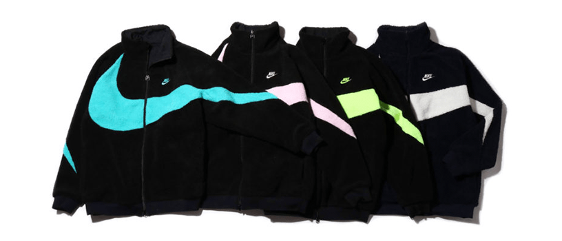 【2月16日(土)】NIKE BIG SWOOSH BOA JACKET