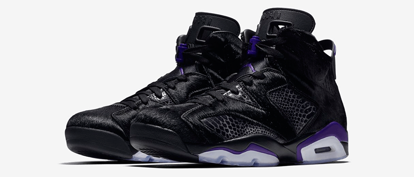 "【2月21日(木)】NIKE AIR JORDAN 6 RETRO NRG ""BLACK AND DARK CONCORD"""