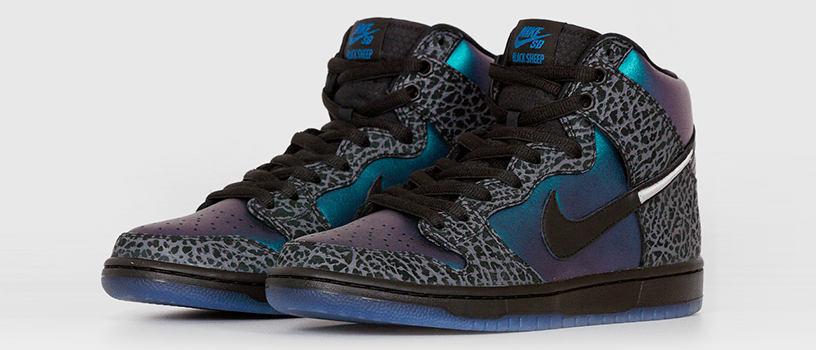 "【2月22日(金)】NIKE SB DUNK HIGH x BLACK SHEEP ""BLACK HORNET"""