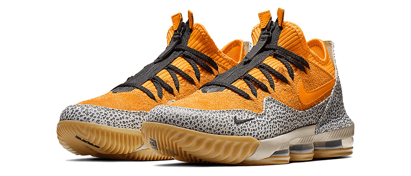 "【3月2日(土)】NIKE LEBRON 16 LOW ""SAFARI"""