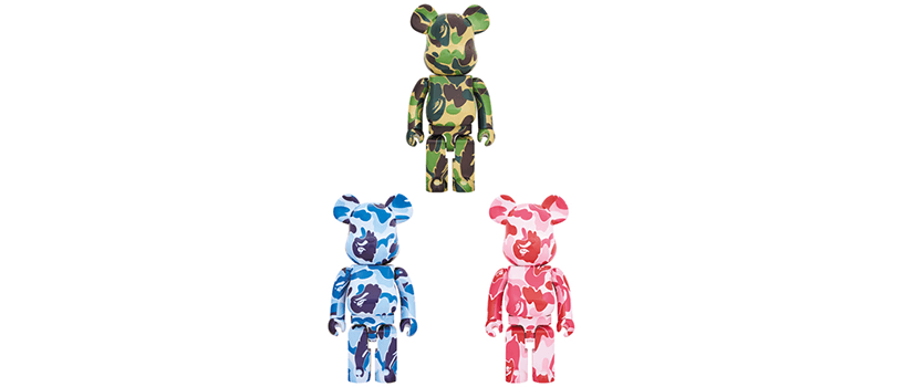 【3月9日(土)】BE@RBRICK ABC CAMO 1000%