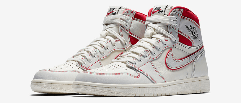 "【3月16日(土)】NIKE AIR JORDAN 1 RETRO HIGH OG ""SAIL UNIVERSITY RED"""