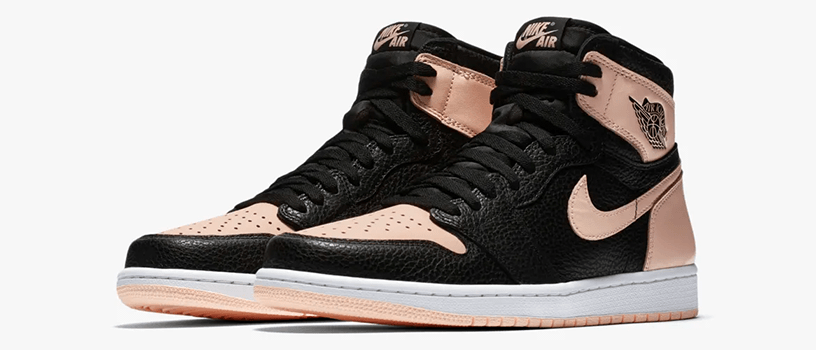 "【4月11日(木)】NIKE AIR JORDAN 1 RETRO HIGH OG ""BLACK / PINK"""