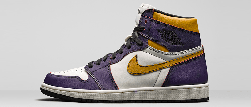 "【海外抽選】NIKE SB x AIR JORDAN 1 HI OG DEFIANT ""LAKERS"" & ""LIGHT BONE"""
