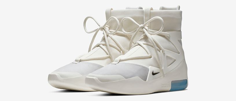 "【6月8日(土)】NIKE AIR FEAR OF GOD 1 ""SAIL"""