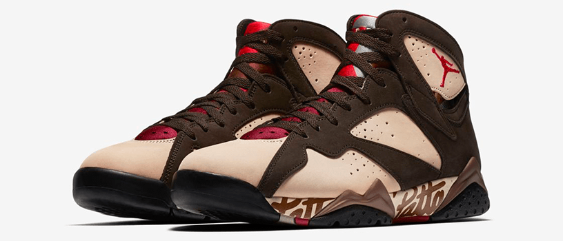 【6月15日(土)】NIKE AIR JORDAN 7 OG SP × PATTA