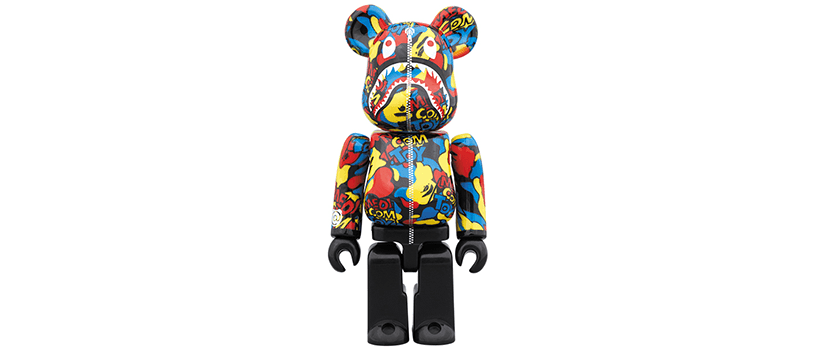 【8月3日(土)】MEDICOM TOY CAMO SHARK BE@RBRICK