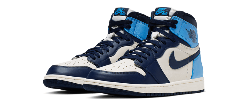 "【抽選:9月5日(木)20時まで】NIKE AIR JORDAN 1 RETRO HIGH OG ""OBSIDIAN"""