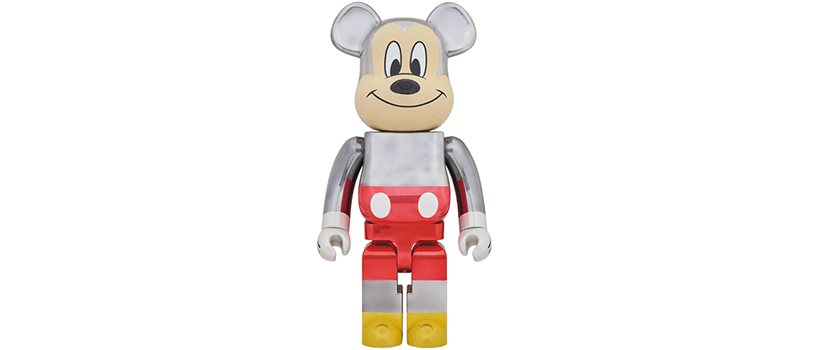 【9月14日(土)】BE@RBRICK fragmentdesign MICKEY MOUSE COLOR Ver.