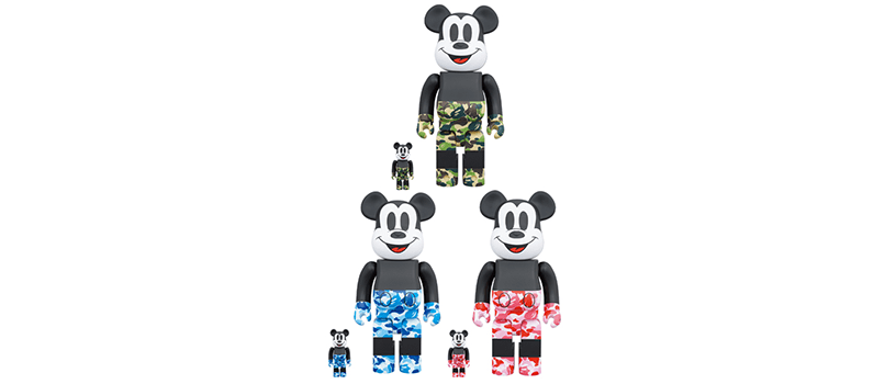 【11月2日(土)~】BE@RBRICK BAPE MICKEY MOUSE