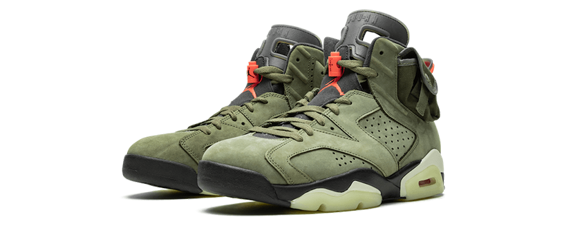 【10月11日(金)】NIKE AIR JORDAN 6 x TRAVIS SCOTT