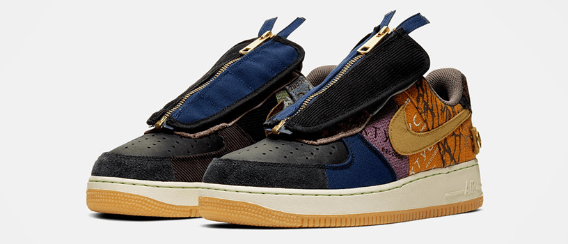 "【11月16日(土)】NIKE AIR FORCE 1 x TRAVIS SCOTT ""CACTUS JACK"""