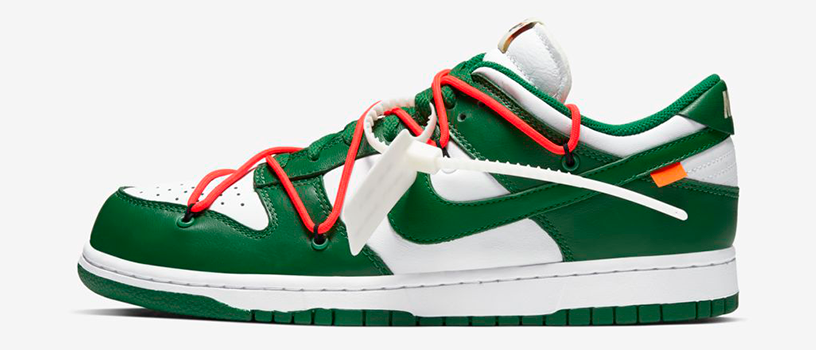 【12月20日(金)】NIKE DUNK LOW x OFF-WHITE