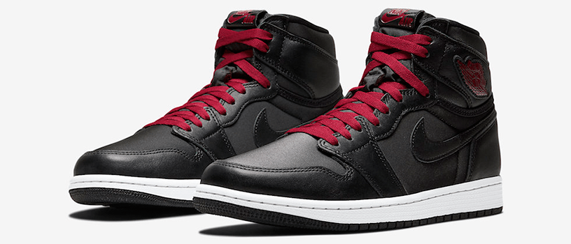 "【2020年1月18日(土)】NIKE AIR JORDAN 1 RETRO HIGH OG ""BLACK SATIN"""