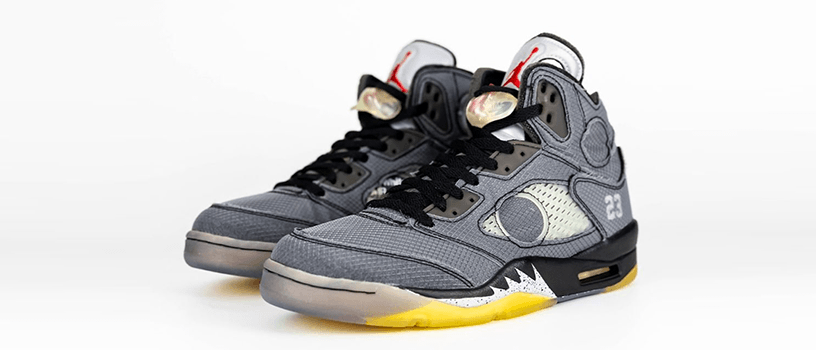 【2月15日(土)】NIKE AIR JORDAN 5 RETRO SP x OFF-WHITE