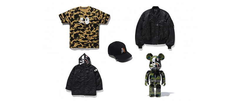 【2月12日(水)~】mastermind VS A BATHING APE®