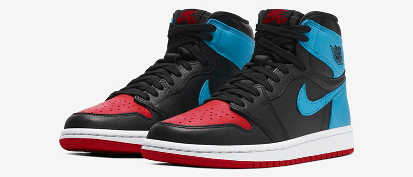 "【2月14日(金)】NIKE WMNS AIR JORDAN 1 HIGH OG ""POWDER BLUE/GYM RED"""