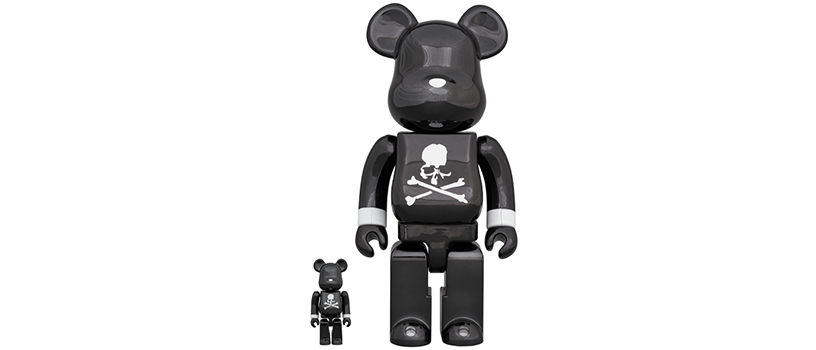 【2月29日(土)】BE@RBRICK mastermind JAPAN BLACK CHROME Ver.