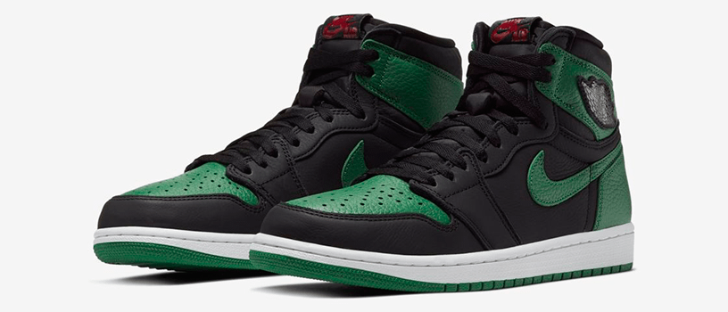 "【2月29日(土)】NIKE AIR JORDAN 1 RETRO HIGH OG ""BLACK/PINE GREEN"""