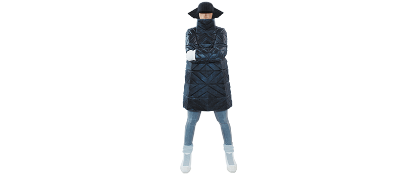 【発売延期】B-GIRL Down Jacket NAGAME BLACK
