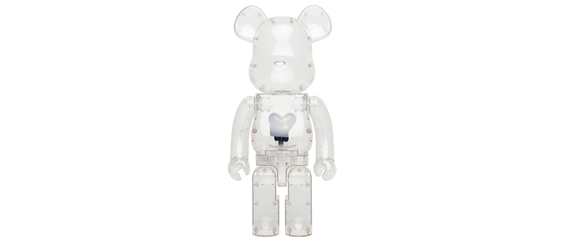 【抽選:5月6日(水)まで】BE@RBRICK EMOTIONALLY UNAVAILABLE Black Heart 1000%