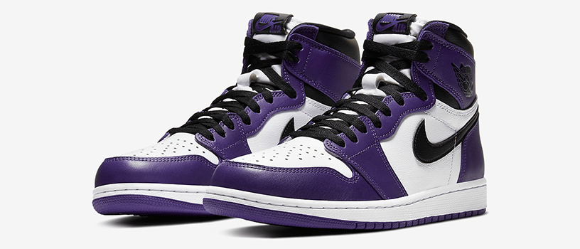 "【4月4日(土)】NIKE AIR JORDAN 1 RETRO HIGH OG ""COURT PURPLE"""